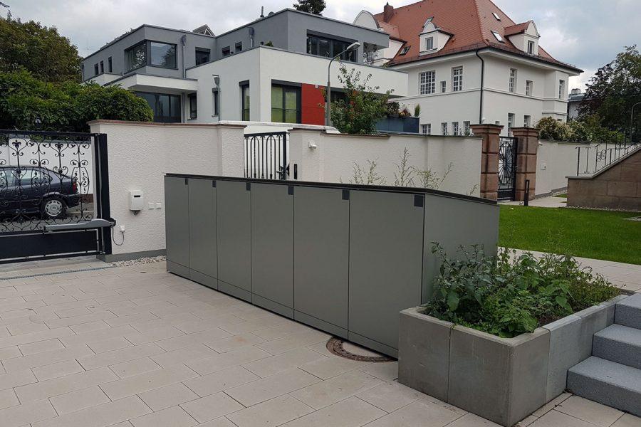 Villa – Müllanlage